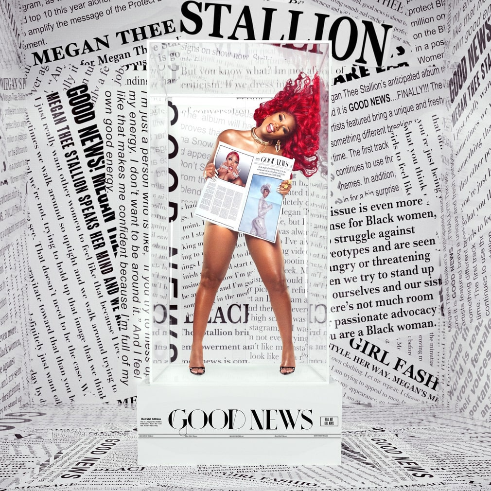 "Megan Thee Stallion, ""Good news""."