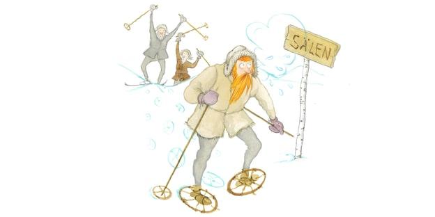 I dag tror man inte att Gustav åkte skidor till Sälen – det kunde sällan adelsmän.